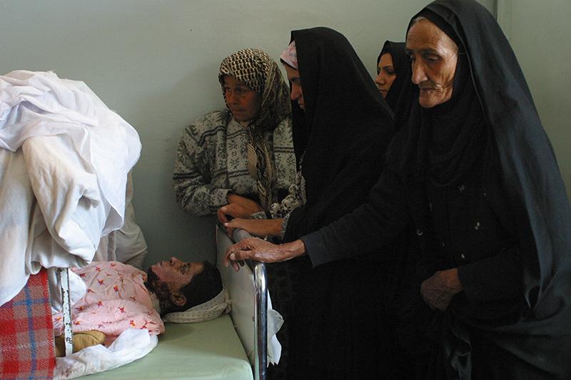 Self-immolation Herat, Afghanistan. © Farzana Wahidy
